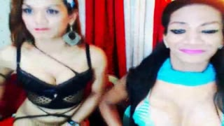 Attractive Very Best Shemale Duo Jerks and Hookup
