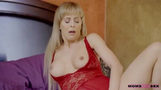MomsTeachSex - Busty MILF Gets Hot Step-Mother's Day Threesome!