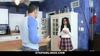 StepSiblings - Flustered Teen Rides Stepbros Cock