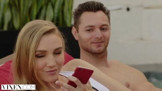 VIXEN Kendra Sunderland Cheats Exactly The Second Her Bf Leaves