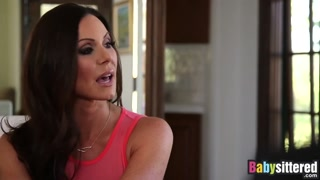 Kendra Lust shares spouses hard-on with young baby sitter