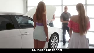 DaughterSwap - Drilling Every Others Step Daddies is Fun