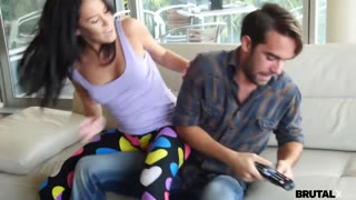 BrutalX - Couple fighting and hooking up