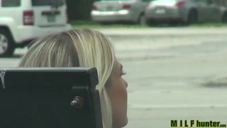 Milf Hunter - Bus stop mom will get collected