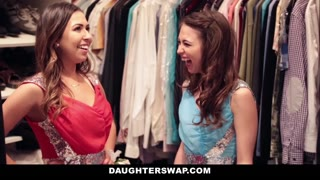 Daughter Swap - Daddies Corporation Virgin Daughters on Prom Night