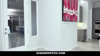 GingerPatch - Red Head Mom Slams Sons Buddy