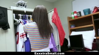 ExxxtraSmall - Cute Teen Bombshell Plowed with Athlete Pricks