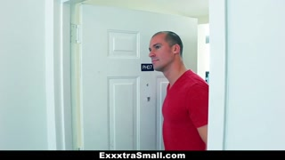ExxxtraSmall - Pigtailed Teen Will Get Tight Cooche Stretched