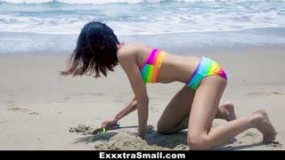 ExxxtraSmall - Hotty Affixed in Rainbow Bikini