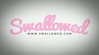 SWALLOWED Sloppy blowbang with Gianna Dior and Charity Crawford