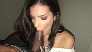 STEPSISTER MISSED Exactly The Final BUS. However HER BROTHER DOESNT. Big Black Cock DEEPTHROAT! POV
