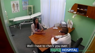 FakeHospital Young teen lady not on contraception arches over for docs cr