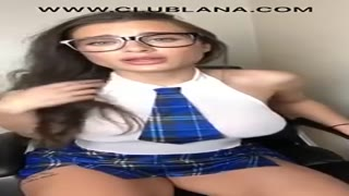 Novice High School Woman Slutt Masturbation