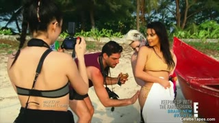 Kim Kardashian Naked And Sexy Bathing Suit Movie Compilation