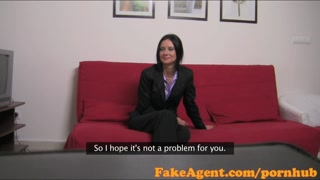 FakeAgent Appealing mature instructor enjoys getting your hands on beat and clamped in Try-out